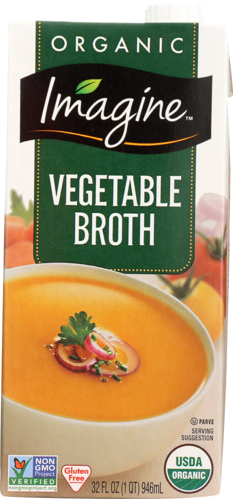 IMAGINE: Organic Vegetable Broth, 32 oz