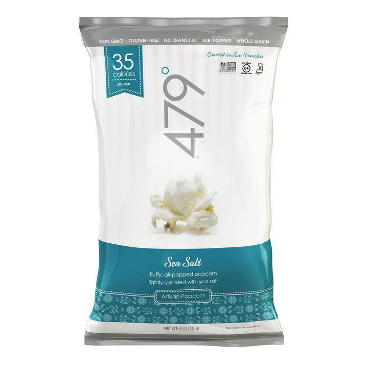 479 DEGREES: Artisan Popcorn Sea Salt, 4 oz