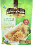 ANNIE CHUN'S: Organic Shiitake and Vegetable Potstickers, 7.6 oz
