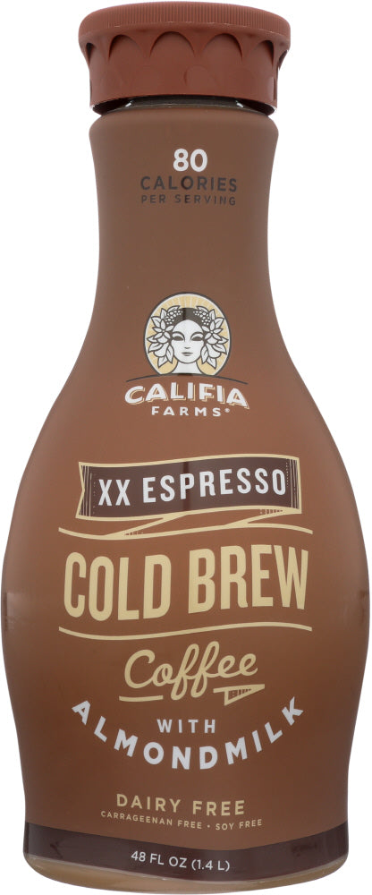 CALIFIA FARMS: Iced Coffee Double Espresso, 48 oz