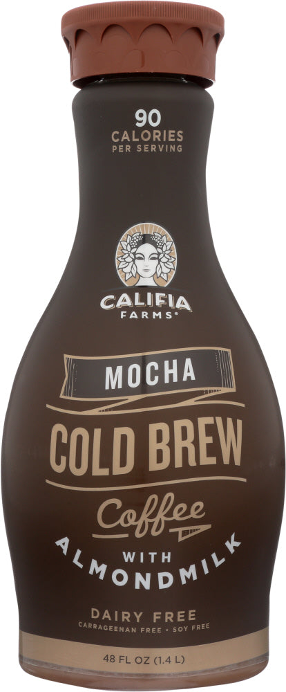 CALIFIA FARMS: Iced Coffee with Almond Milk Mocha, 48 oz