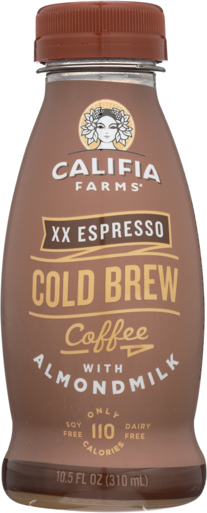 CALIFIA FARMS: XX Espresso Almond Milk Iced Coffee, 10.5 oz