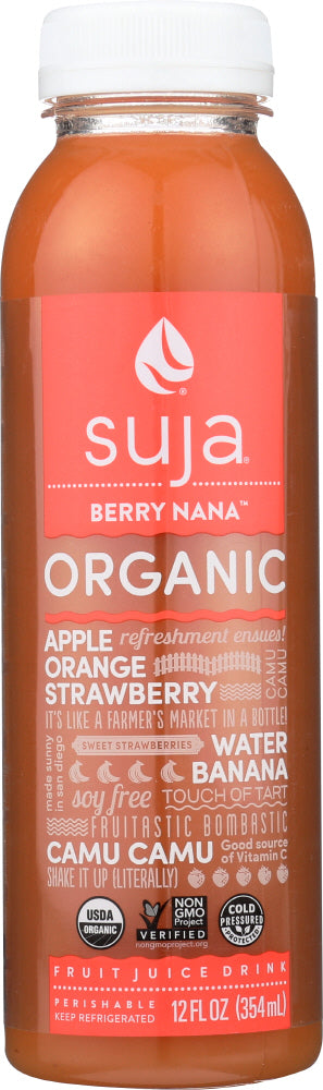 SUJA ESSENTIALS: Organic Berry Nana Juice, 12 oz
