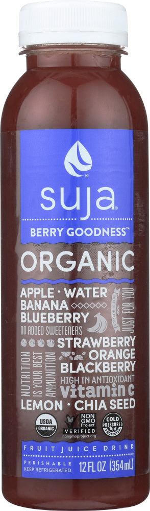 SUJA ESSENTIALS: Organic Berry Goodness Juice, 12 oz