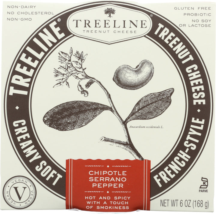 TREELINE: Chipotle-Serrano Pepper French-Style Soft Cheese, 6 oz