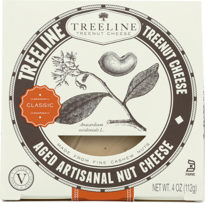 TREELINE: Classic Aged Nut Cheese, 4 oz
