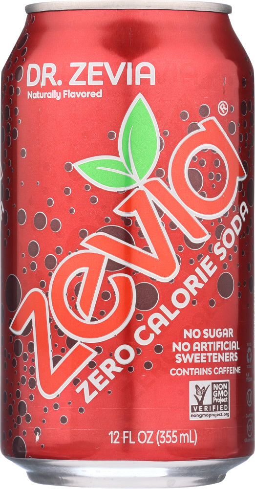 ZEVIA: Dr. Zevia Diet Soda 6 Count, 72 oz