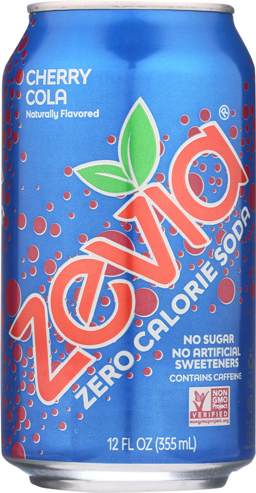 ZEVIA: Natural Cherry Cola 6 Count (12 oz each), 72 oz