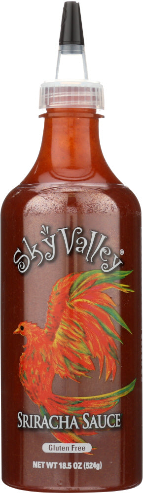 SKY VALLEY: Organic Sriracha Hot Sauce, 18.5 oz