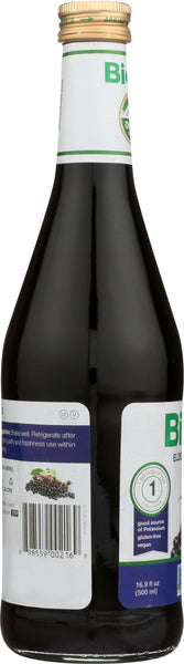 BIOTTA: Elderberry Juice, 16.9 oz