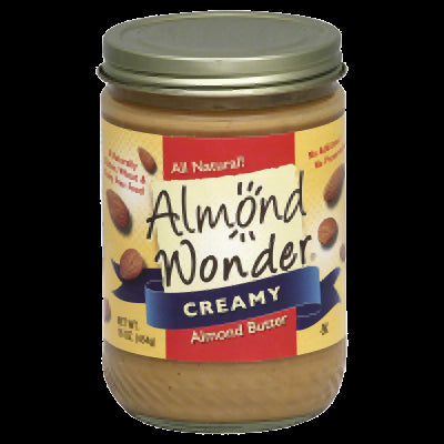 ALMOND WONDER: Creamy Almond Butter, 16 oz