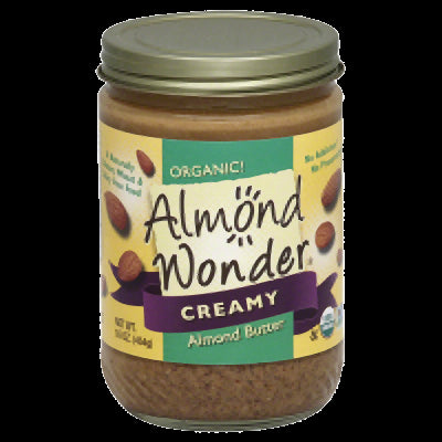 ALMOND WONDER: Organic Creamy Almond Butter, 16 oz