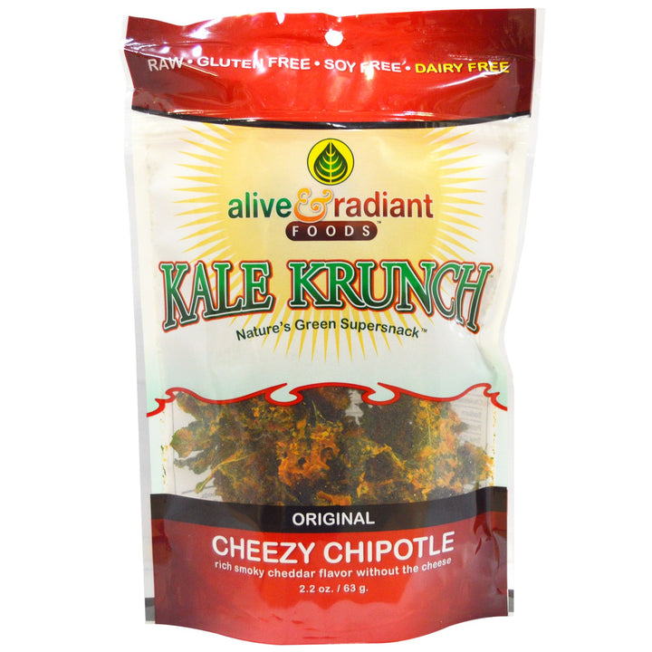 ALIVE & RADIANT: Kale Krunch Cheezy Chipotle, 2.2 oz