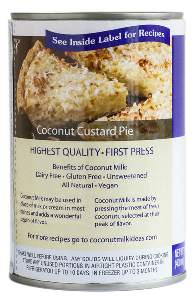 ANDRE PROST: Unsweetened Coconut Milk, 13.5 oz