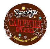BROOKLYN BEAN ROASTERY: Campfire Marshmallow Flavored Hot Cocoa, 12 Count