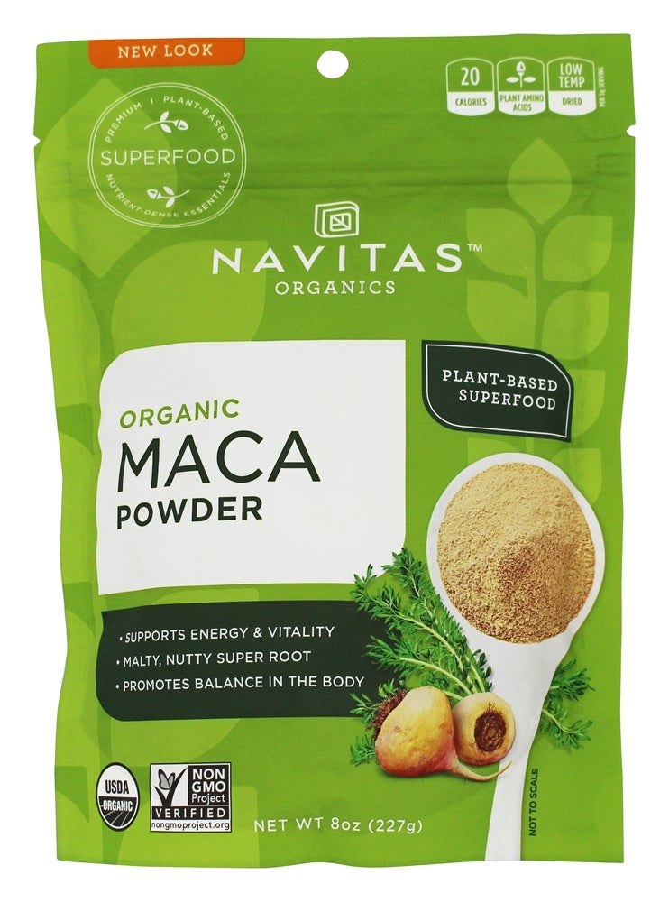 NAVITAS ORGANICS: Organic Raw Maca Powder, 8 oz