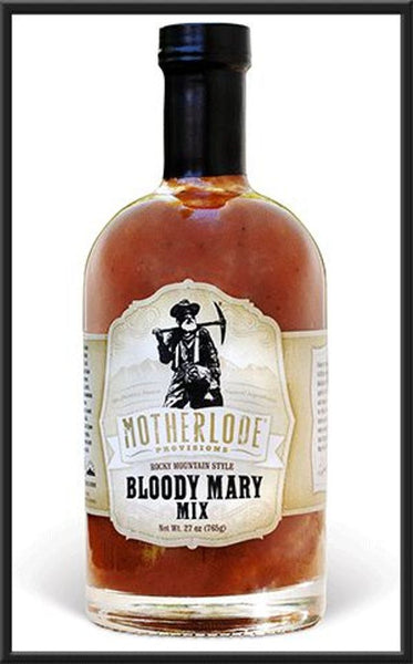 MOTHERLODE PROVISIONS: Rocky Mountain Style Bloody Mary Mix, 27 oz