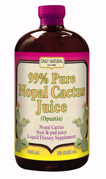 ONLY NATURAL: Nopal Cactus Juice, 32 oz