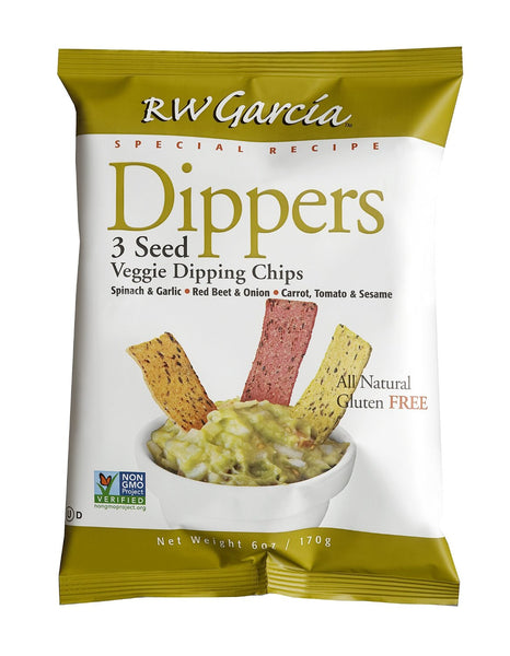 RW: Garcia Dippers 3 Seed Veggie Dipping Chips, 6 oz