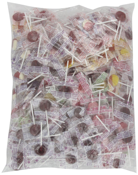 YUMMYEARTH: Organic Fruit Lollipops Assorted Fruits Flavors, 5 lb
