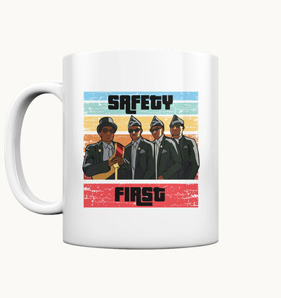 Safety first coffin dancer - Tasse - Tasse glossy