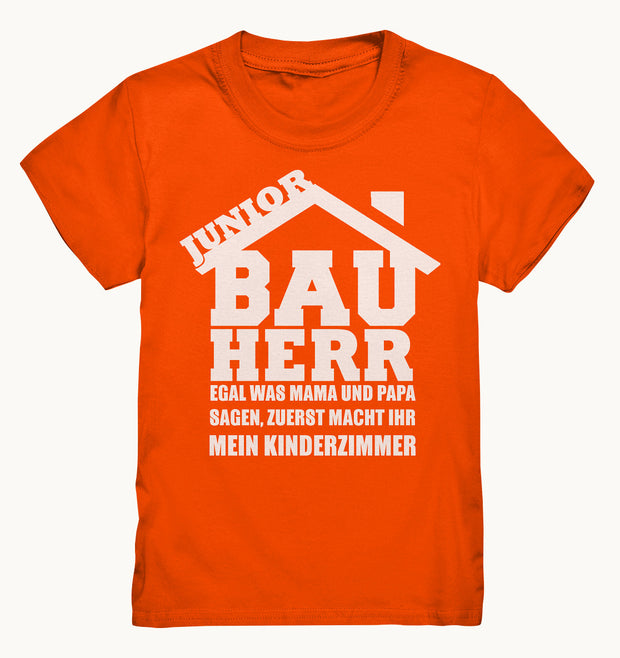 Bauherr Junior-Kids Premium Shirt