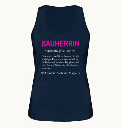 Bauherrin - Ladies Organic Tank-Top