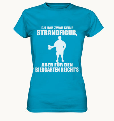 Strandfigur - Ladies Premium Shirt - Baufun Shop