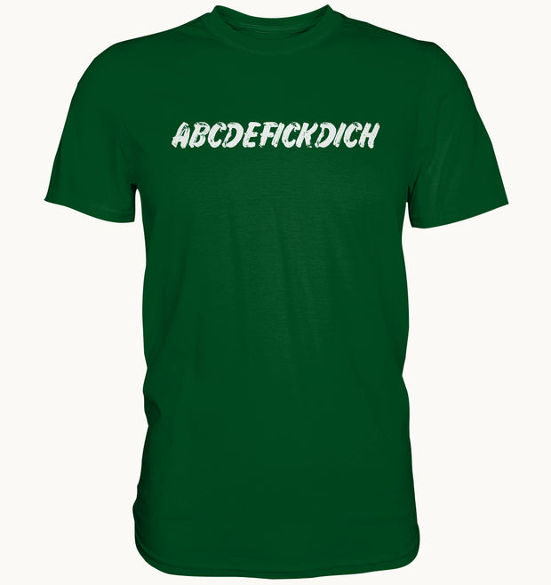 ABCDEFICKDICH - Shirt