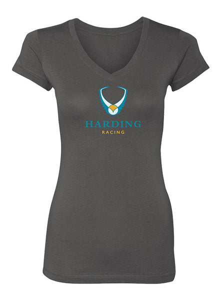Ladies Harding Racing V-neck Tee