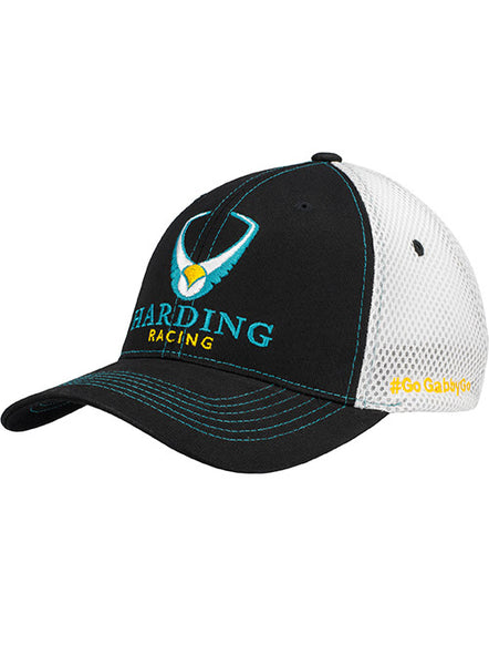 Harding Racing Foam Mesh Flex-fitted Hat