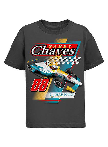 Youth Harding Racing Car T-Shirt
