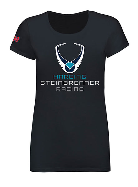 Ladies New Era Harding Steinbrenner Logo Tee