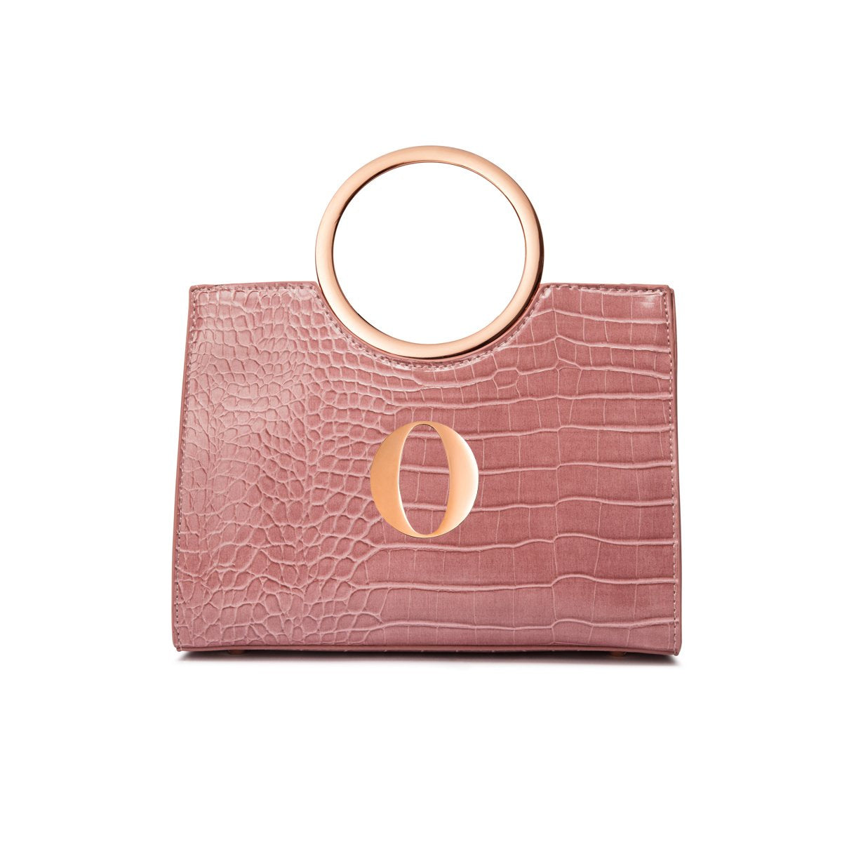 Arora Handle Bag (Dusky Rose/Rose Gold)