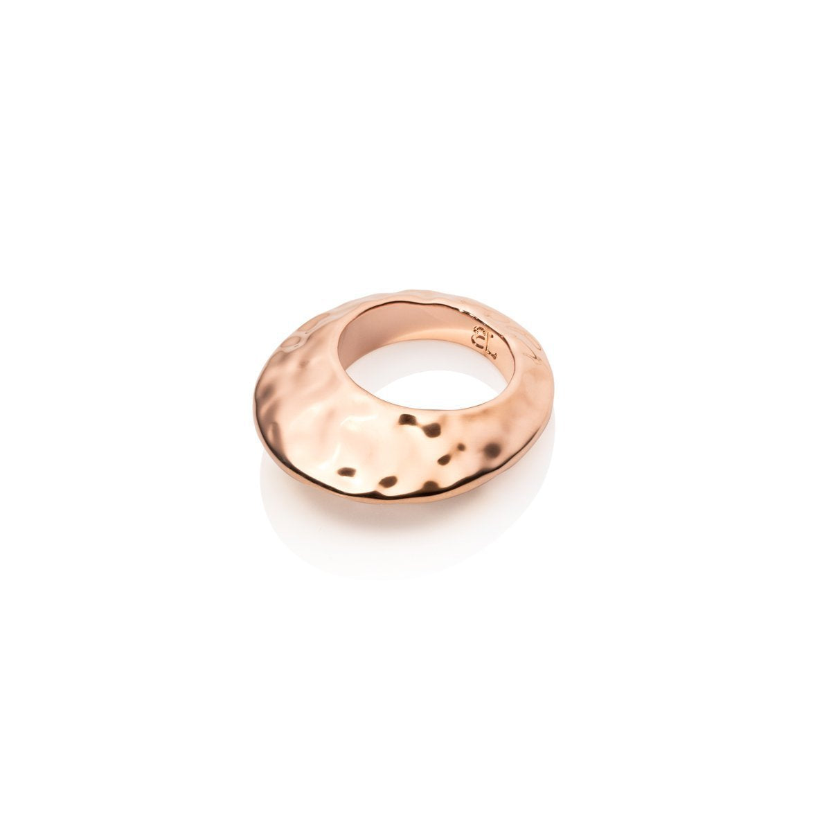 Hvar Hammered Ring (Rose Gold)