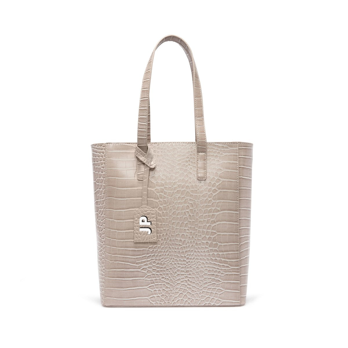 Cora Tote Bag (Ash Grey/Rose Gold)