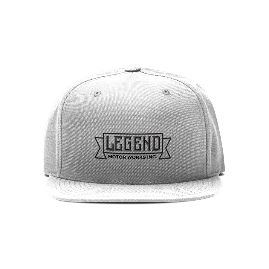 Legend Motor Works Logo Trucker Cap