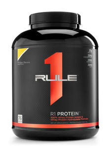 Rule 1 PROTEIN Whey Isolate/Hydrolysate (76 servings)
