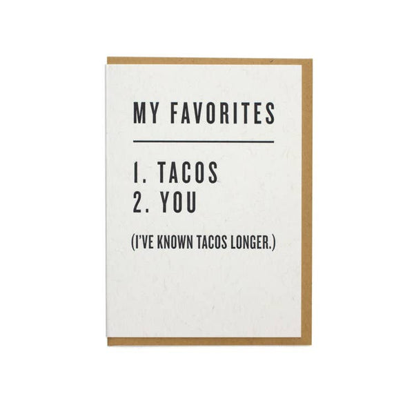 My Favorites - Tacos & You