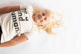 Be a Kind Human Kid's Tee // Natural