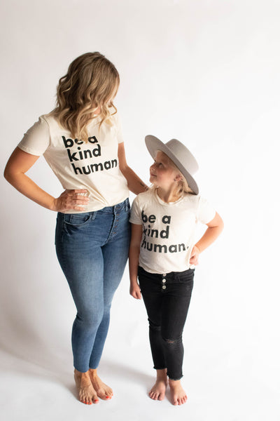 Be a Kind Human Tee // Women's