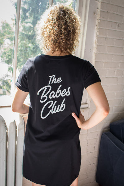 "The ""Babes Club"" Tee Dress"