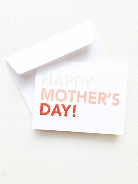 Happy Mother's Day! // Greeting Card