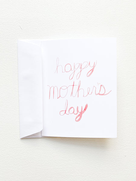 Happy Mother's Day // Greeting Card