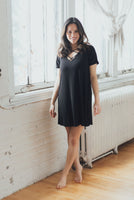 Crisscross Tee Dress