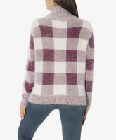Evea Sweater // Buffalo Plaid
