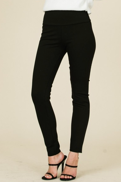 High Waisted Ponte Pants