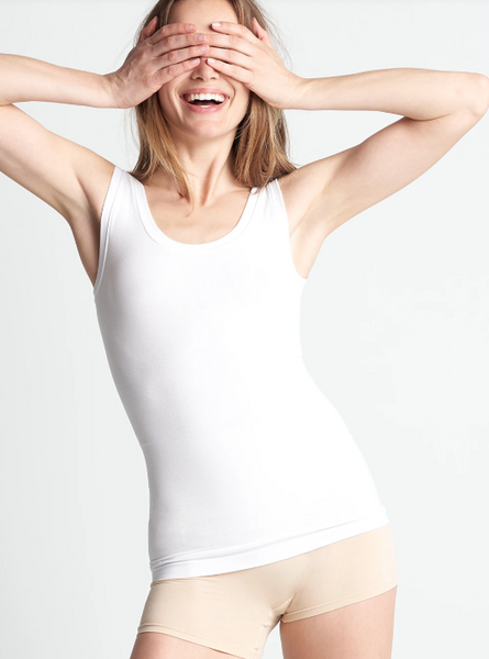 Comfortably Cool Scoop Neck Shaping Tank // Yummie