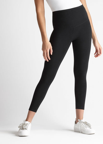 Gloria Skimmer Cotton Stretch Shaping Legging // Yummie