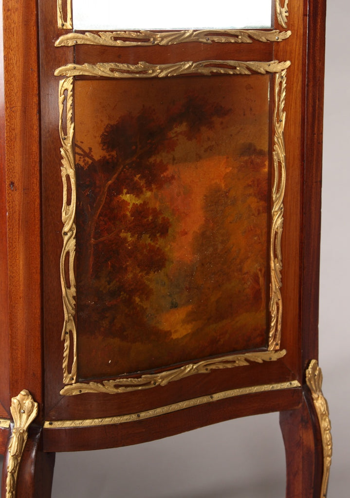 A French Ormolu Mounted & Painted Louis XV Style Vitrine